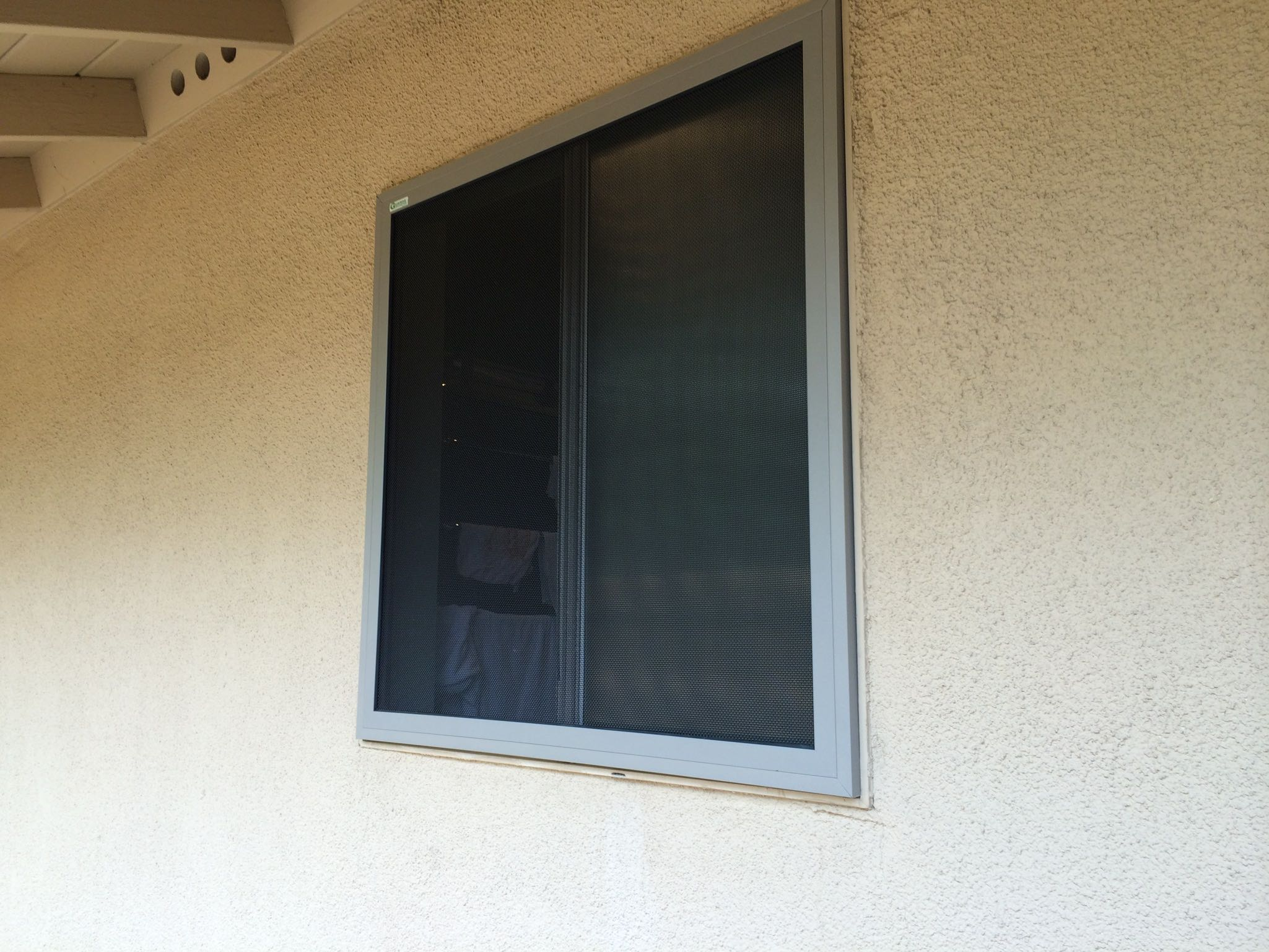 "Guarda ""Sahara Brown"" Quick Release Fire Escape Security Screen — Riverside, CA"