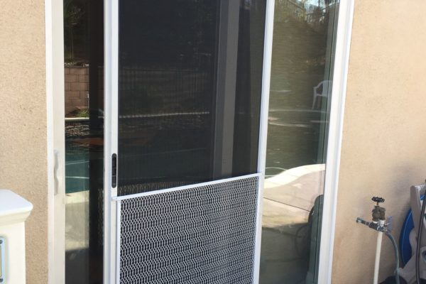 Sliding Screen Door With Pet Mesh U2014 Canyon Lake, CA